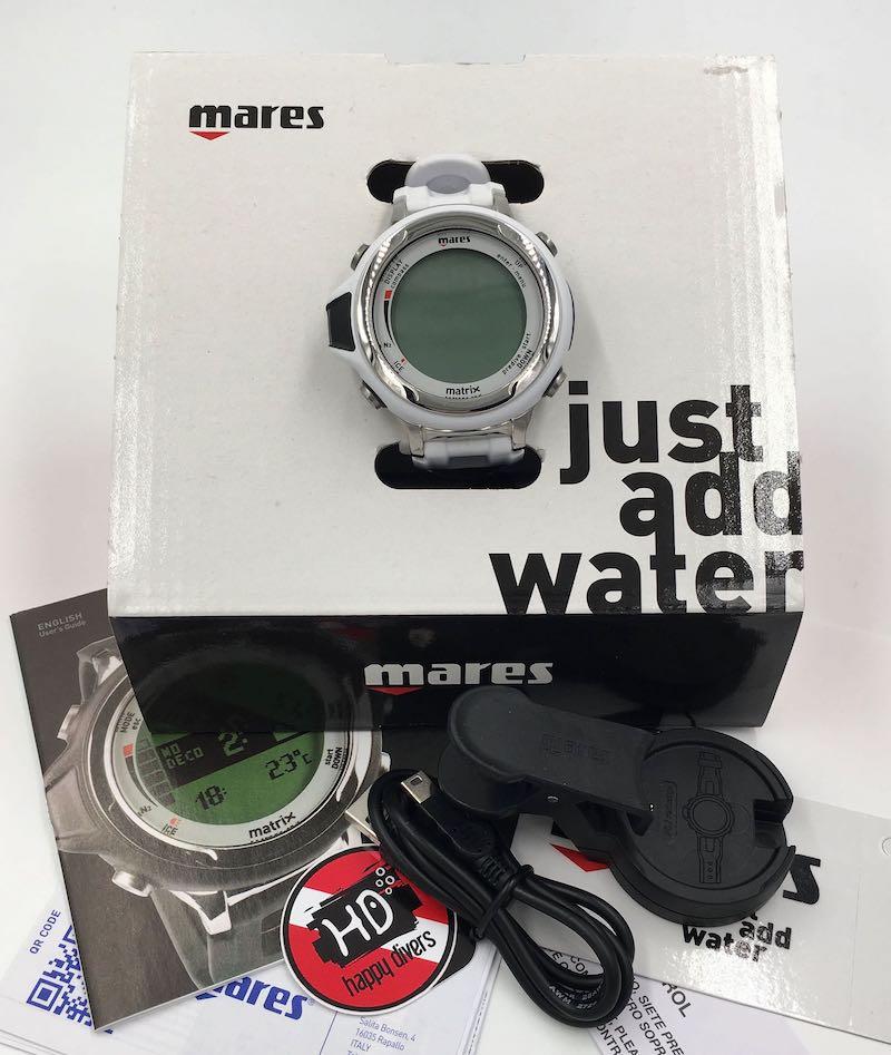 Mares Matrix počítač bílá obsah balení