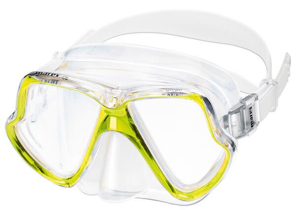 Šnorchlovací set brýle a šnorchl Mares Wahoo žlutá