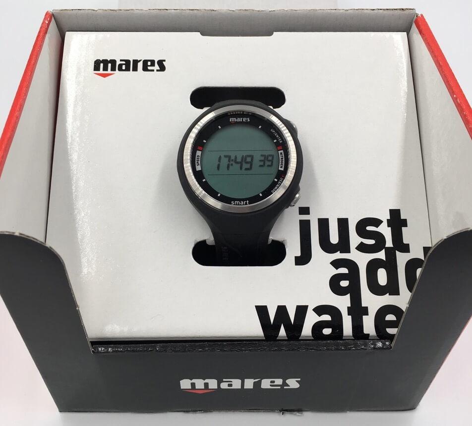 Potápěčský počítač Mares Smart černý