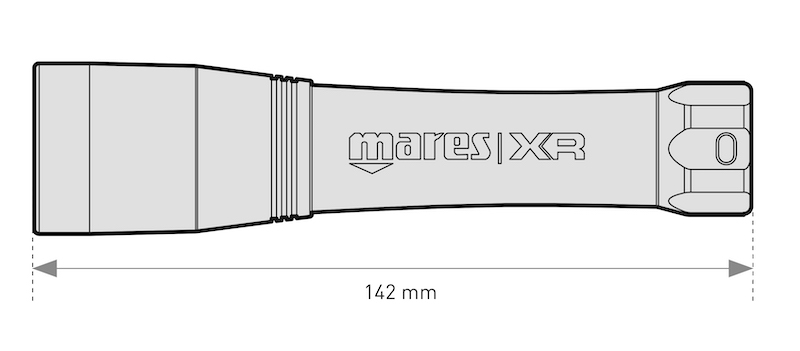Záložní svítilna Mares XR Back Up