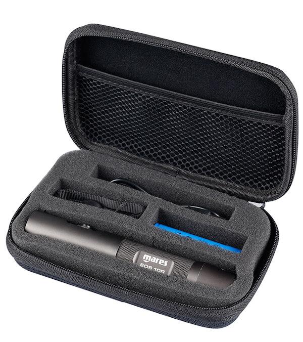 Baterka na potápění Mares EOS 10 R v obalu