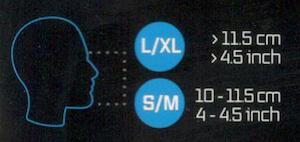 Celoobličejová maska na šnorchlování seac unica velikosti