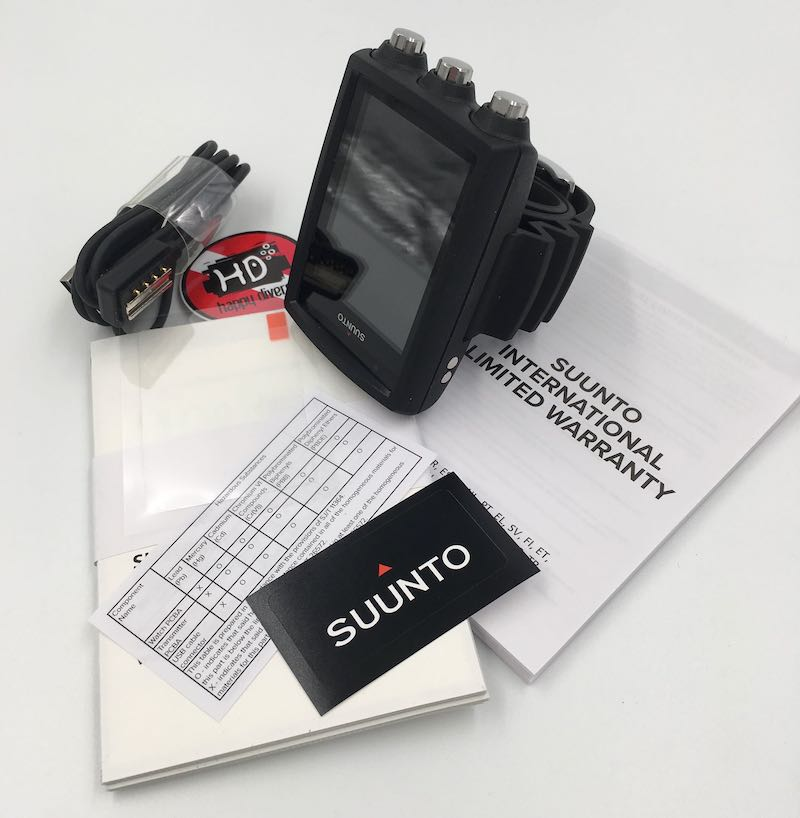 Potápěčský počítač Suunto EON Core černý