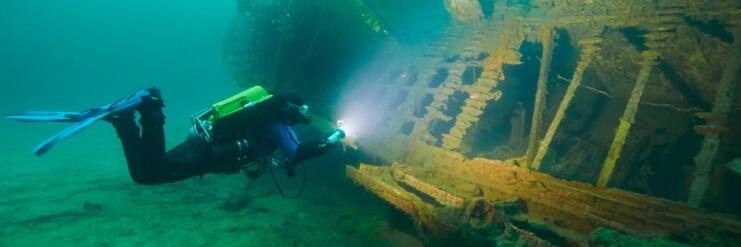 Potápění s Suunto EON Steel