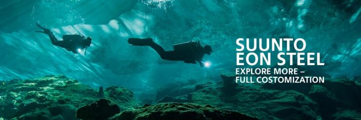 Potápěčský computer Suunto EON Steel