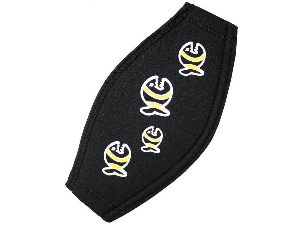 Neoprénový pásek na masku iQ černýNeoprénový řemínek k masce iQ