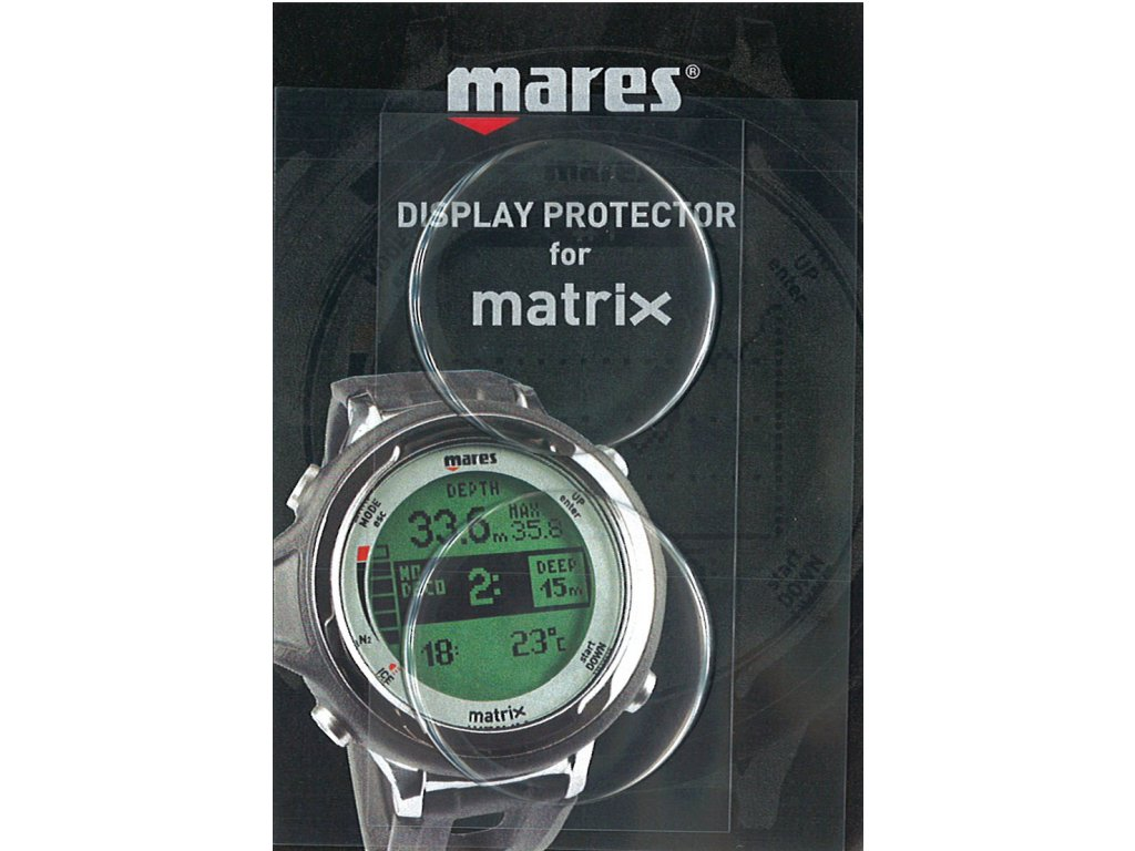 Mares Matrix a Smart Display Protector