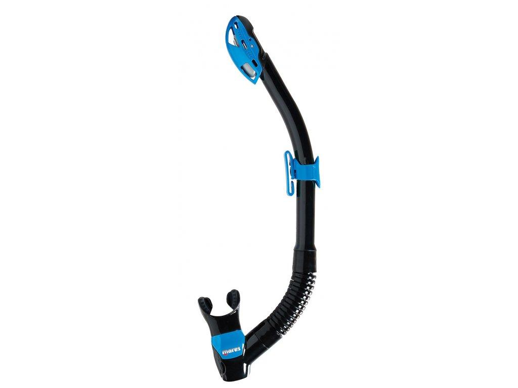 Šnorchl Mares Rebel Dry černá/modrá
