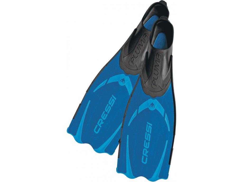 Šnorchlovací ploutve Cressi Pluma modré