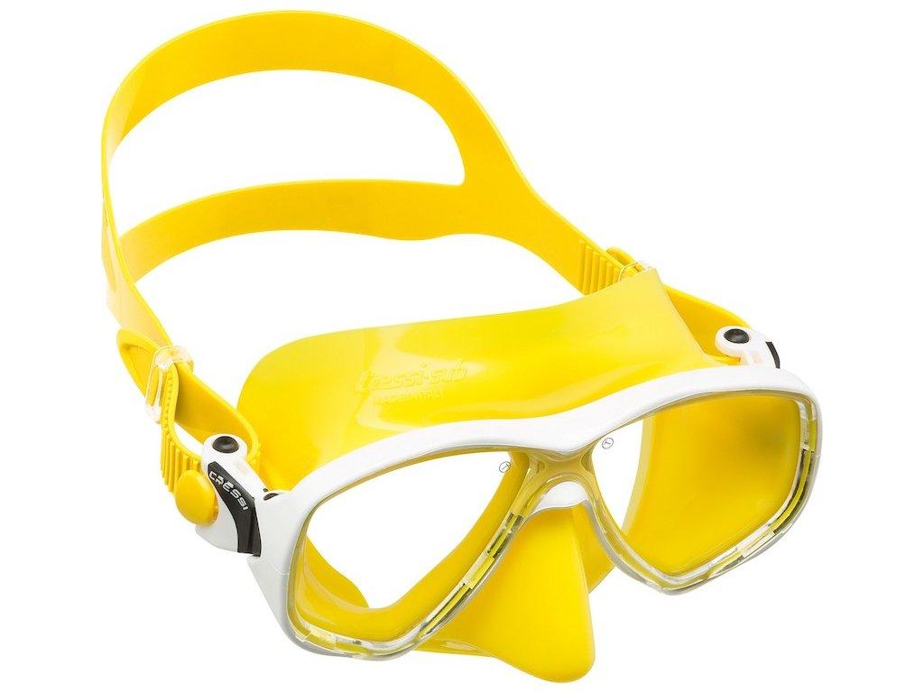 Dětská Maska Cressi MAREA junior žlutá