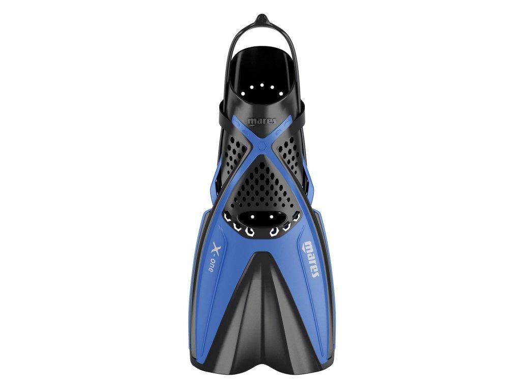 Dětské šnorchlovací ploutve Mares X-ONE Junior modré