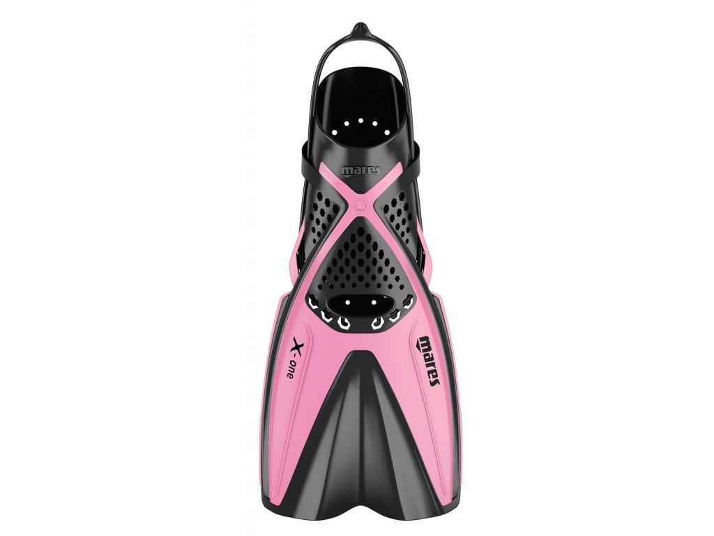 Dětské šnorchlovací ploutve Mares X-ONE Junior růžové