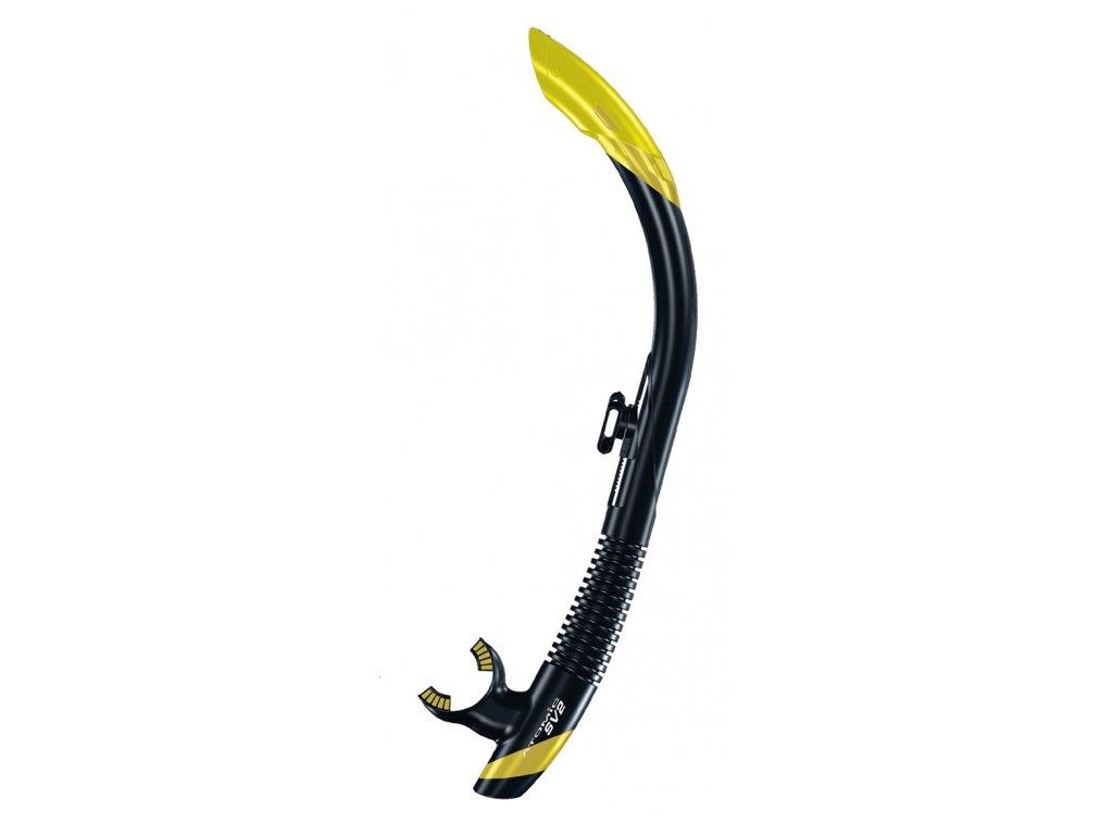 Šnorchl Atomic Aquatics SV2 černý/žlutý