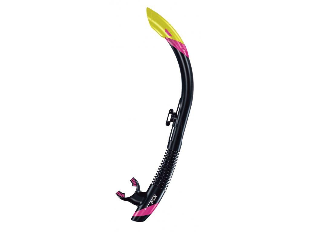 Šnorchl Atomic Aquatics SV2 černý/růžový
