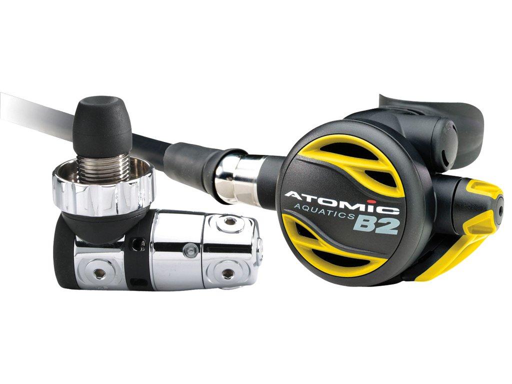 Automatika Atomic Aquatics B2 DIN žlutá
