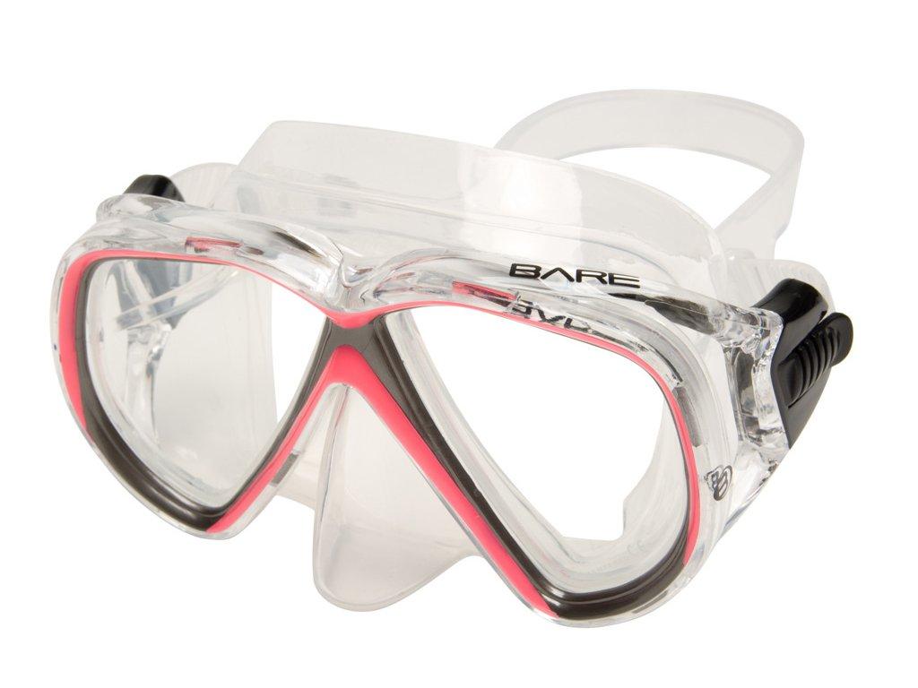 Maska Bare Duo Compact růžová