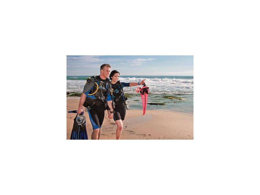 Dárkový certifikát na ochutnávku potápění