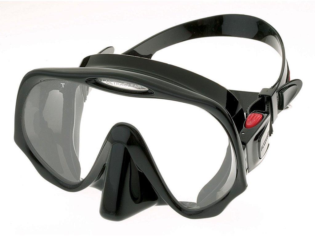 Maska Atomic Aquatics Frameless MEDIUM černá