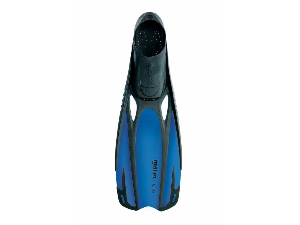 Dětské šnorchlovací ploutve Mares FLUIDA junior modré