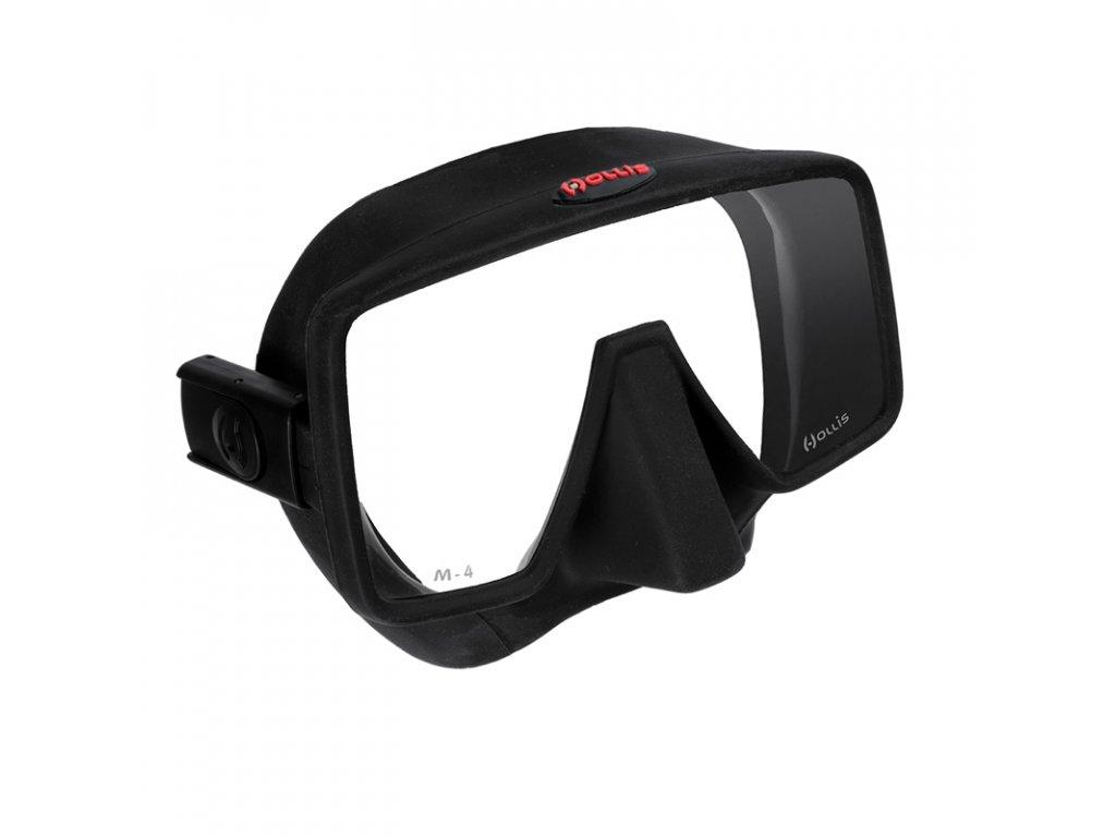 Bezrámečková potápěčská maska Hollis M-4