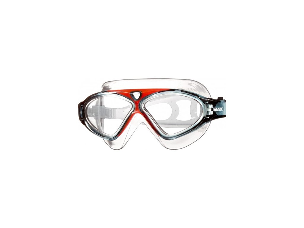 Plavecké brýle Seac Goggle Vision HD red