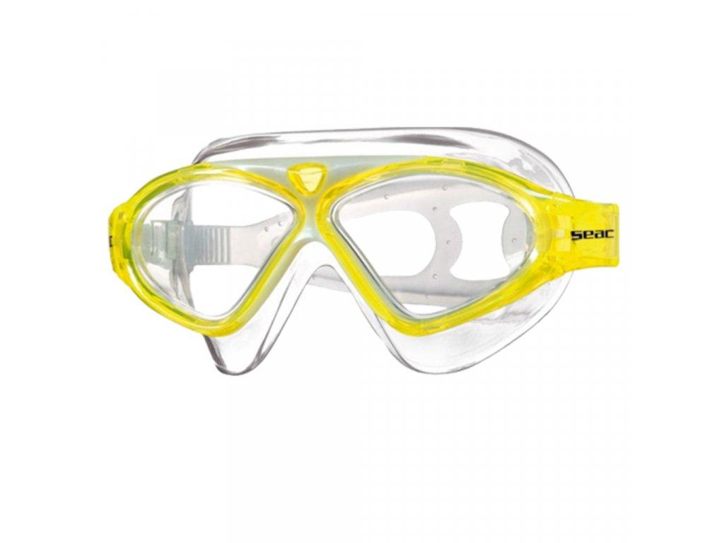 Plavecké brýle Seac Goggle Vision Junior yellow