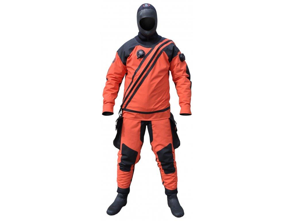 Suchý oblek URSUIT Heavy Light Kevlar BDS Orange