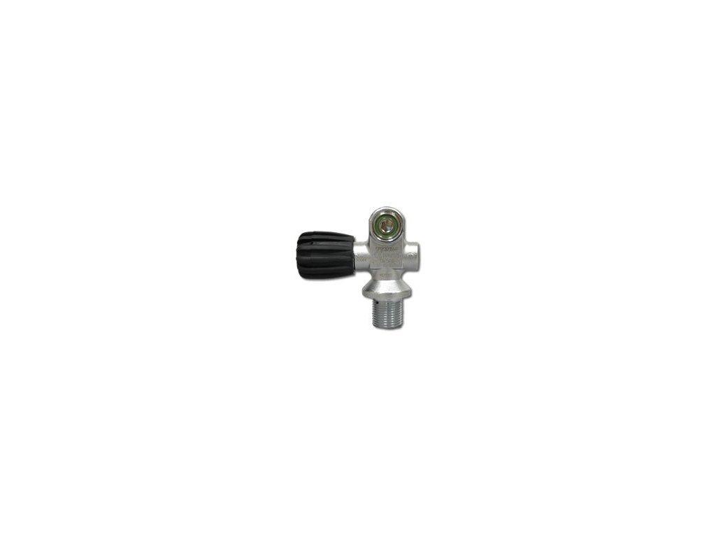 Ventil na mono láhev M25x2 300 bar