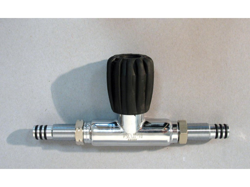 Ventil uzavíratelný můstek pro manifold 232 bar