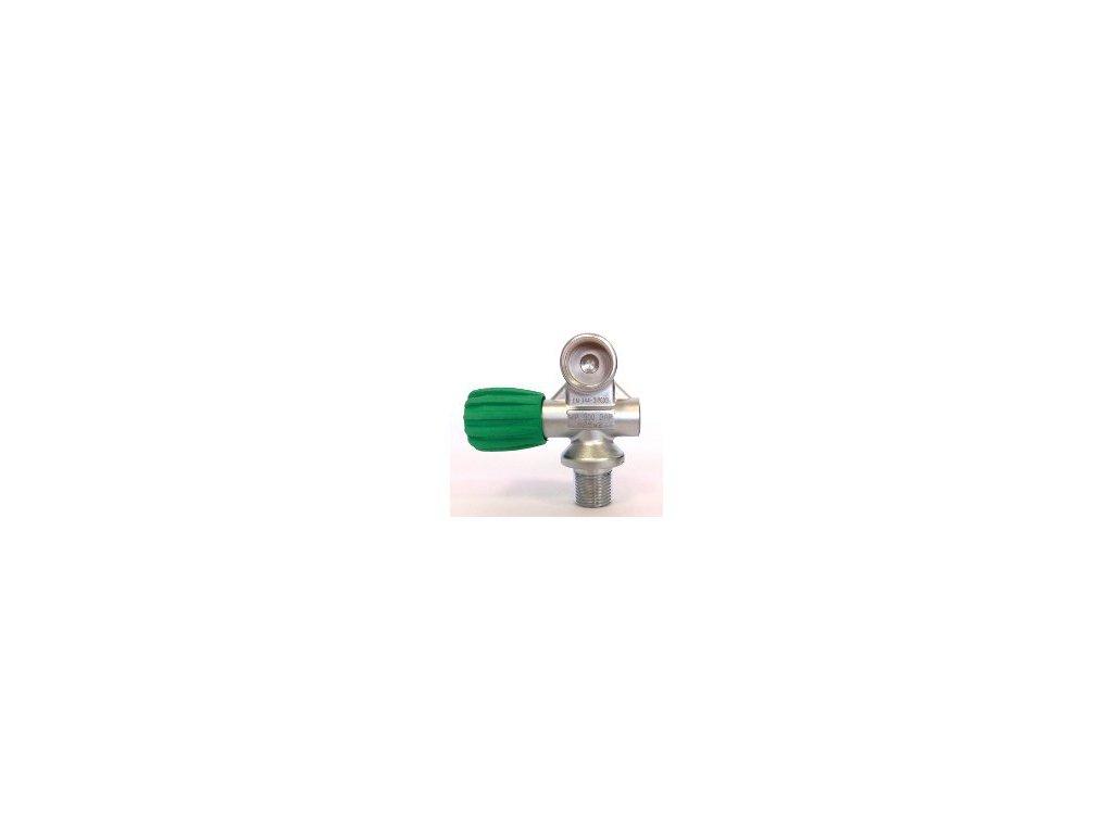 Ventil na mono láhev nitrox M25x2 300 bar