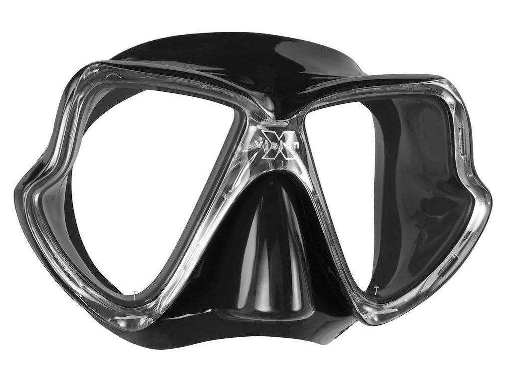 Potapecska maska Mares X Vision MID cerna