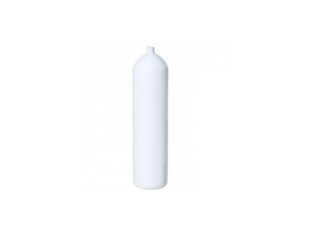 Láhev ocelová Vítkovice 12 L 230 bar 171 mm, rovné dno