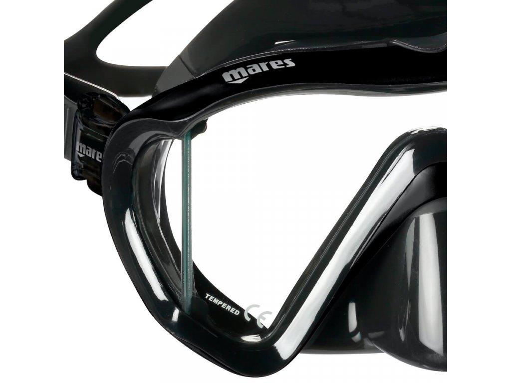 Maska Mares i3 černá