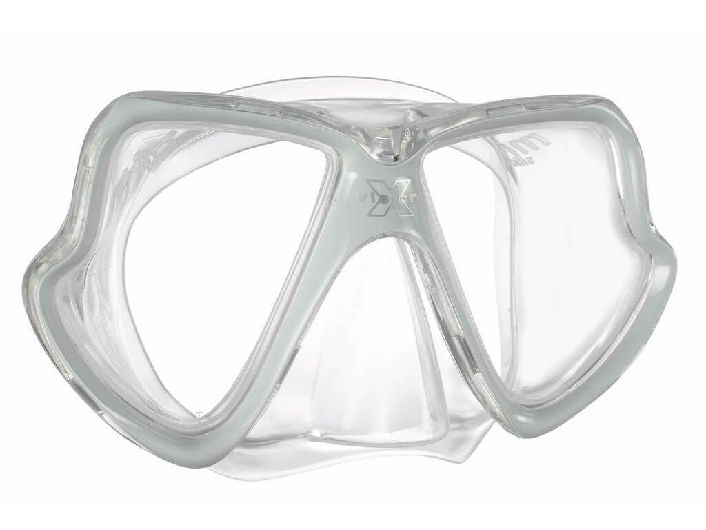 Potapecska maska Mares X Vision MID seda
