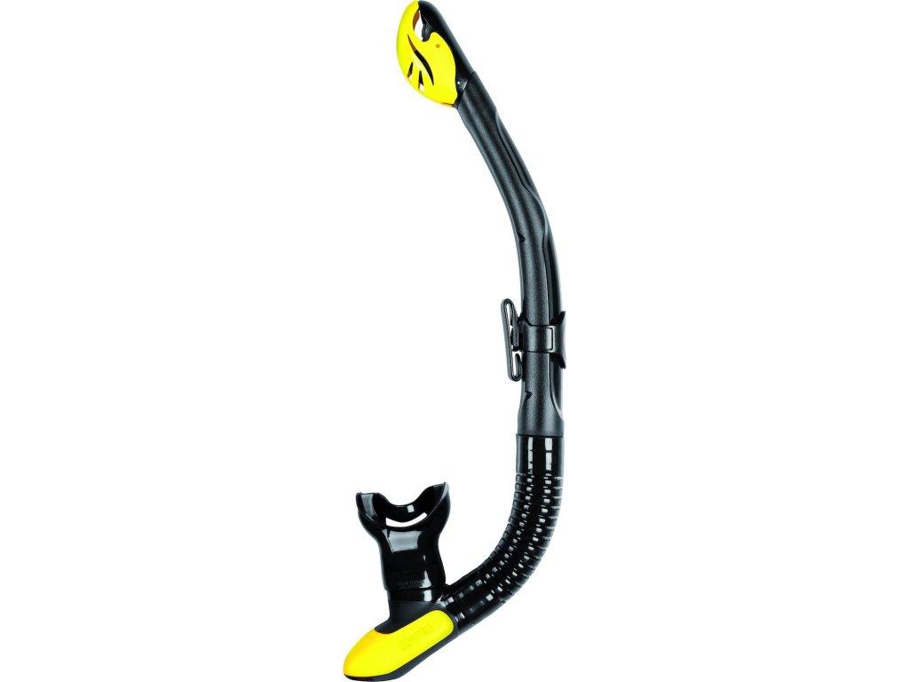 Šnorchl Mares Ergo Dry černý/žlutý