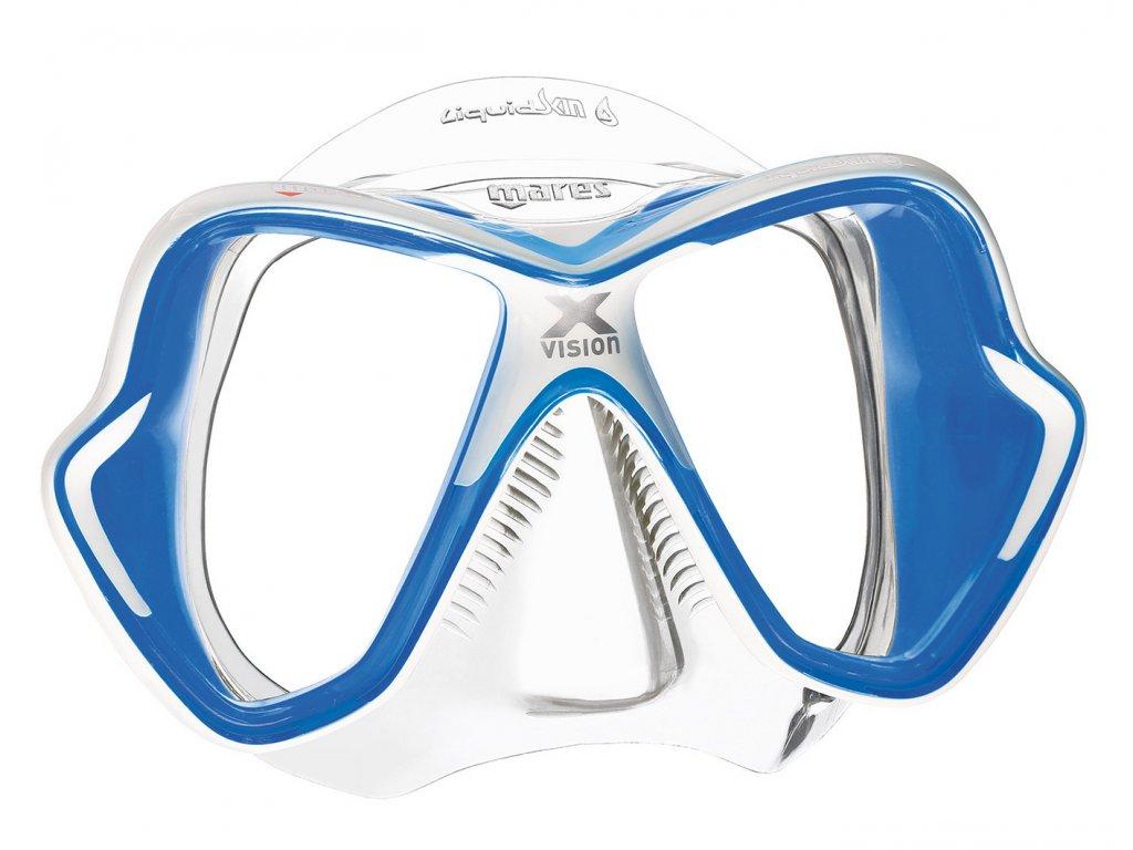 Maska na šnorchlování Mares X-Vision Liquidskin