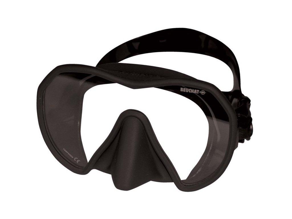 Potápěčská maska Beuchat MAXLUX S černá