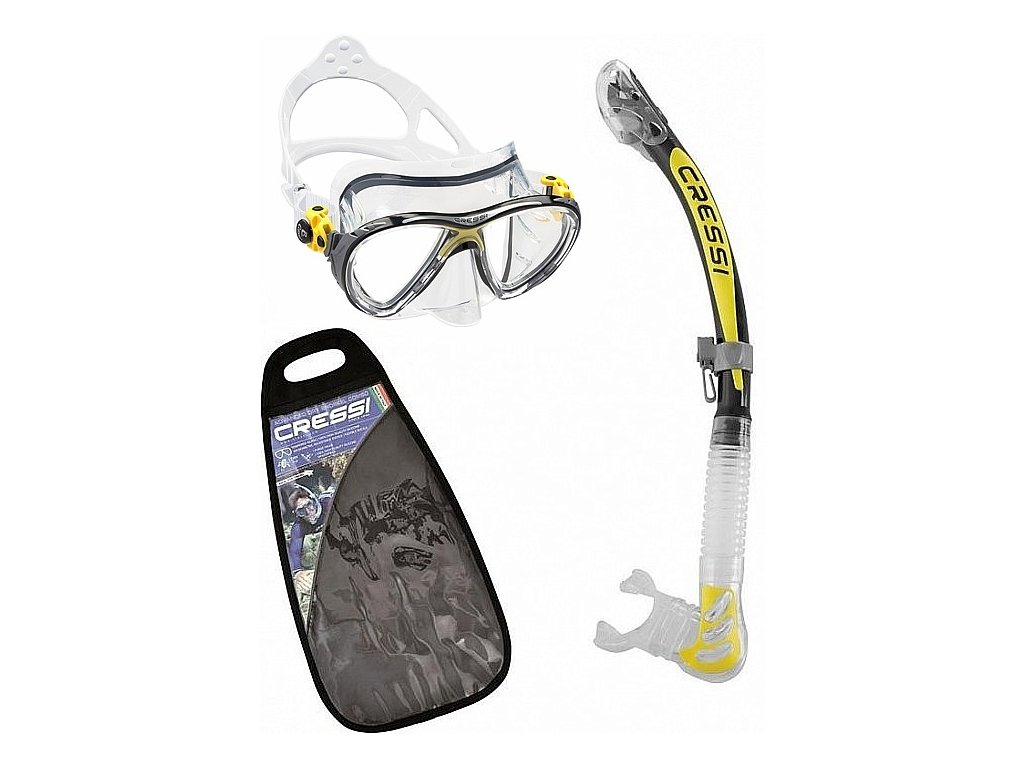 Potápěčský set maska + šnorchl Cressi