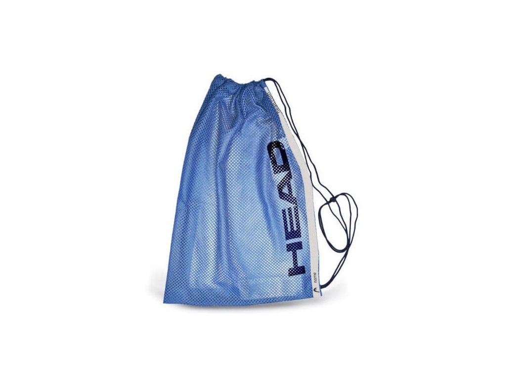 Head mesh bag training blue