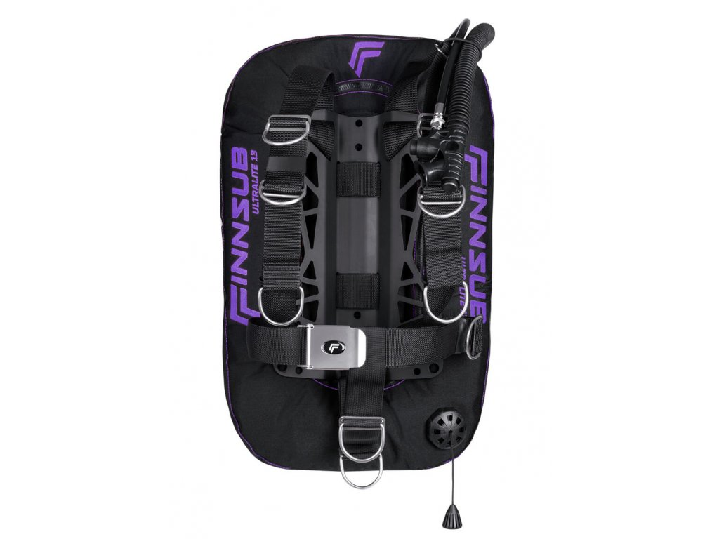 Křídlo Finnsub Fly Ultralite set purple- s kapsama