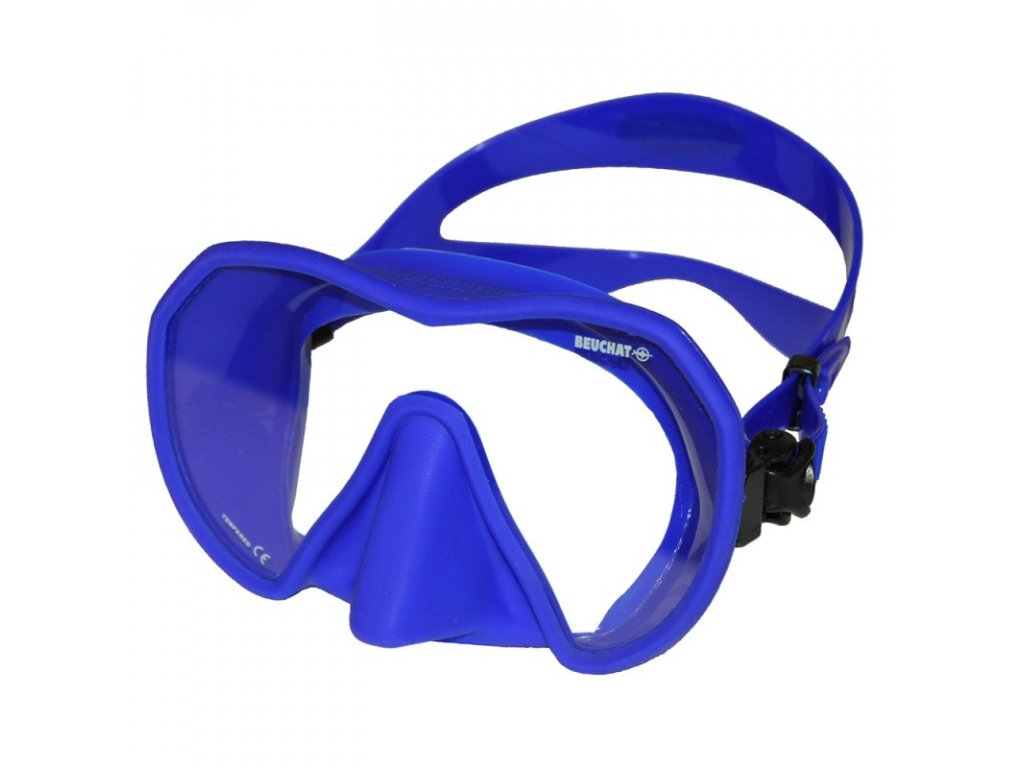 Maska Beuchat MAXLUX S ultra modrá