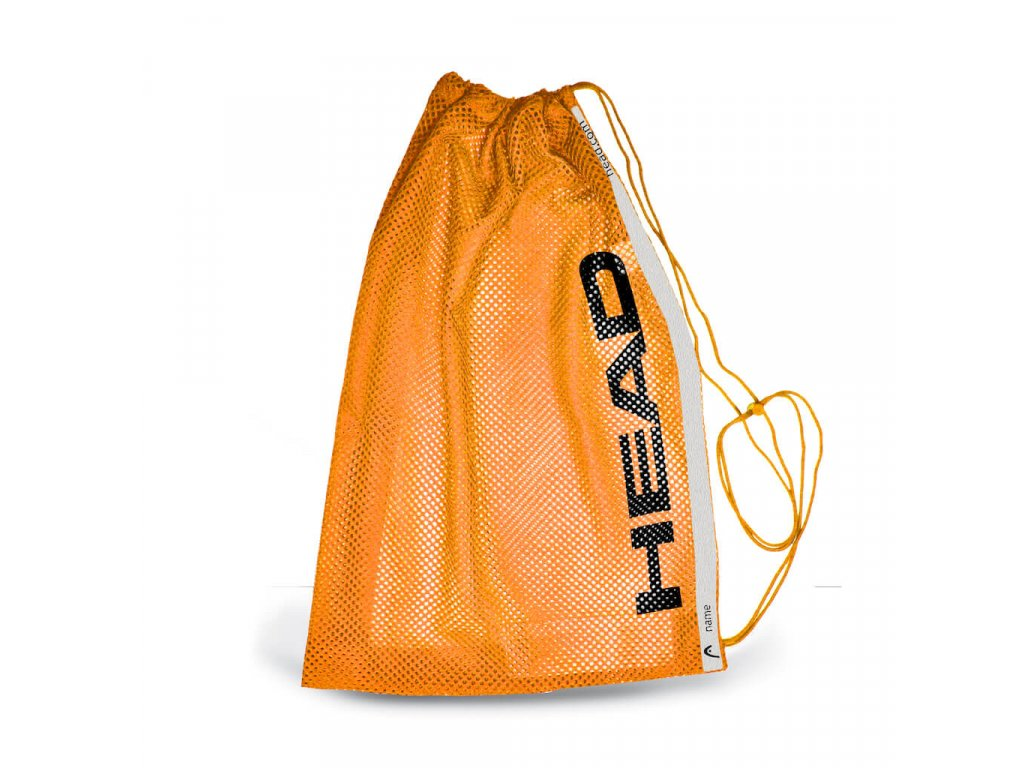 Head Mesh bag orange