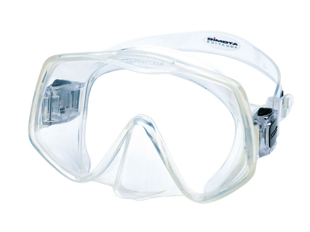 Potapecska maska Atomic Aquatics frameless 2 clear medium