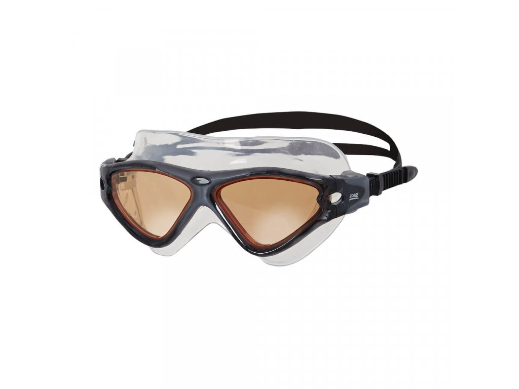 Plavecke bryle Zoggs Tri Vision hnede