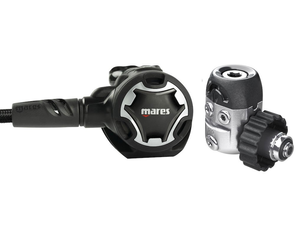 Komplet potapecska automatika Mares Dual 15X