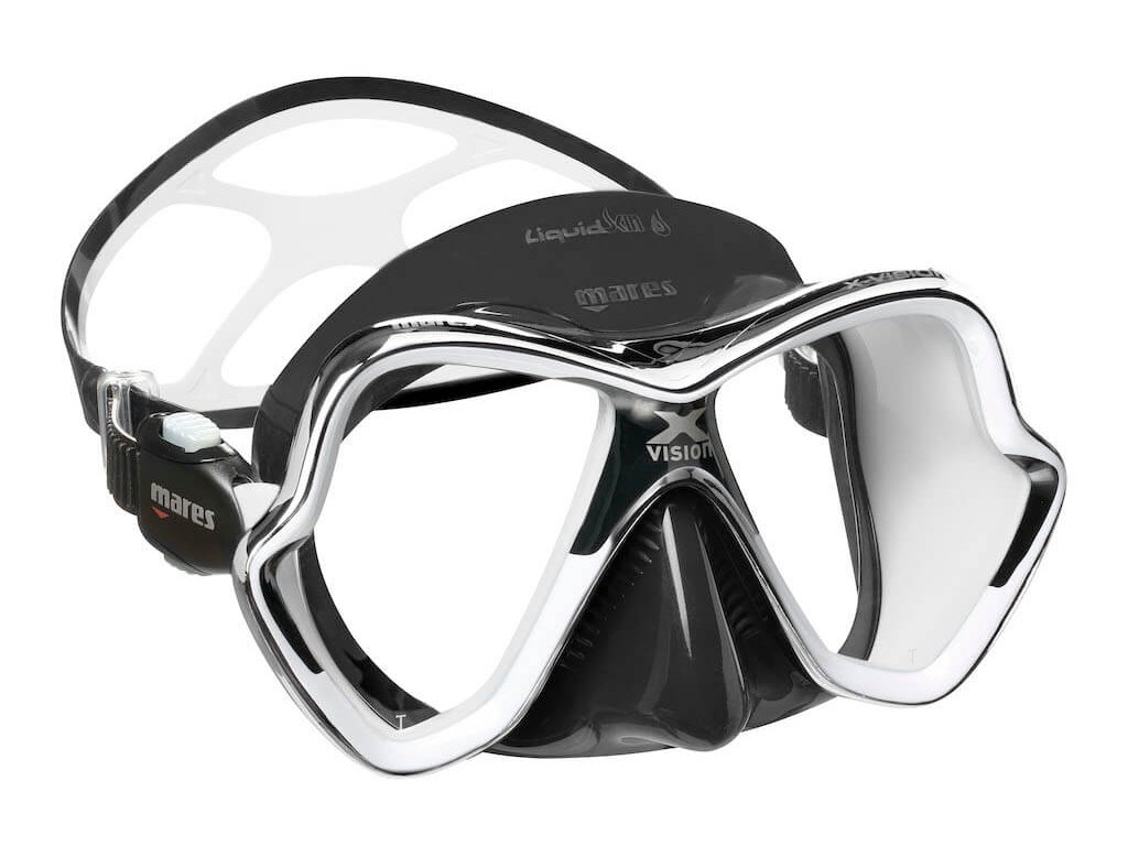 Potapecska maska Mare X Vision Liquidskin chrom cerna bila