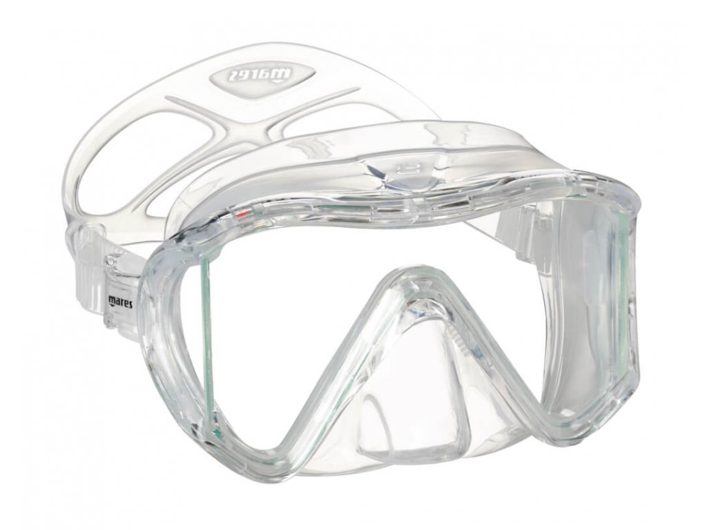 Potapecska maska Mares i3 sunrise trannsparentni