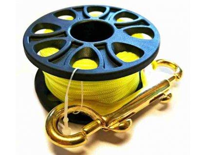 Cívka REEL deco spool 20m, žlutá