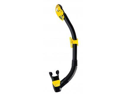 Šnorchl Mares Rebel Dry černá/žlutá