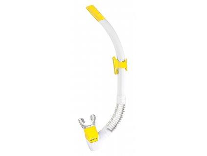 Šnorchl Mares Rebel Flex bílá/žlutá